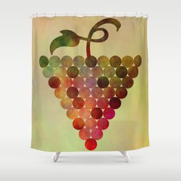 Grapes Design Shower Curtain