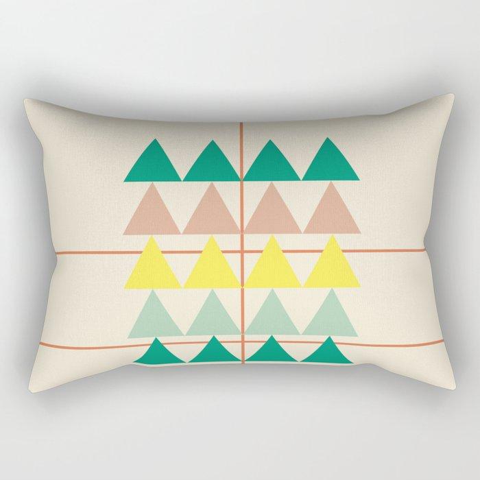 disguise forest || early summer Rectangular Pillow
