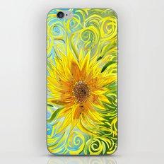 Sunflower Symphony iPhone & iPod Skin