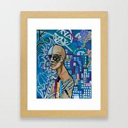 KC Framed Art Print