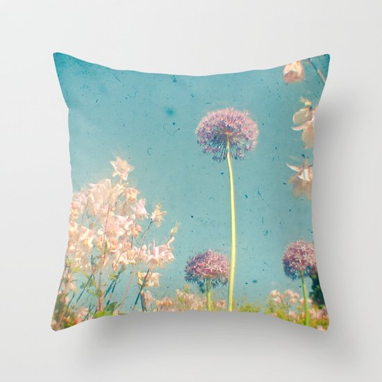 Garden Throw Pillow