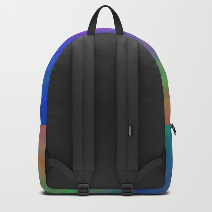 Twister Of Color Backpack