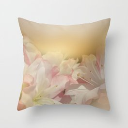 Window Curtains - Smell the Flowers Throw Pillow
