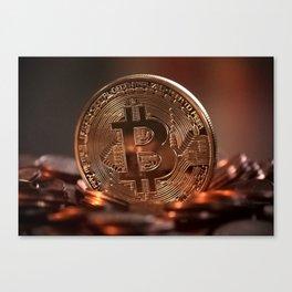 Bitcoin 9 Canvas Print