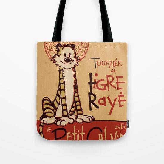 Le Tigre Rayé Tote Bag