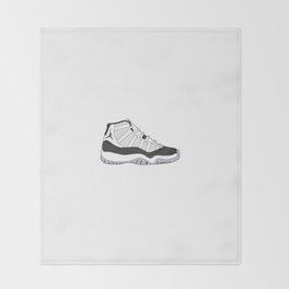 Jordan 11 - Concord Throw Blanket
