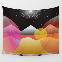 Solar Flares Wall Tapestry