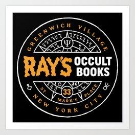 occult books new york Art Print