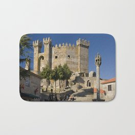 Medieval fortress in Portugal Bath Mat