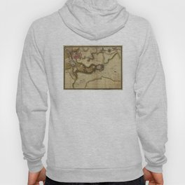 Vintage Map of Baltimore MD (1781) Hoody
