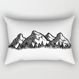 Mt. Range Rectangular Pillow