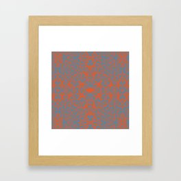 Lace Variation 05 Framed Art Print