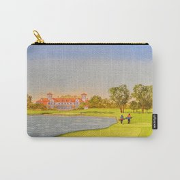 TPC Sawgrass Golf Course 18th Hole And Clubhouse Carry-All Pouch