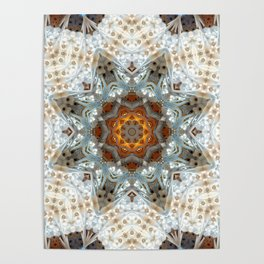 Sagrada Familia - Mandala Arch 1 Poster
