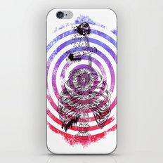 Skeleton Bullseye iPhone & iPod Skin