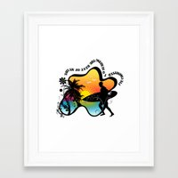 surfing Framed Art Prints featuring Surfing by mark ashkenazi