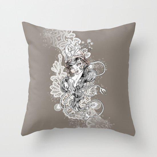 Gipsy Throw Pillow