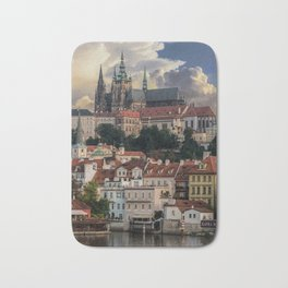 Sunny day in Prague Bath Mat