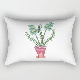 Watercolor Flower / Day 35 / Home Decor Rectangular Pillow