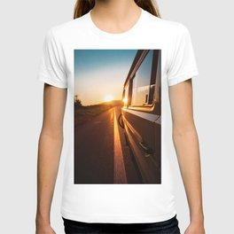Sunset Travels Van (Color) T-shirt