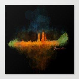 Bogota City Skyline Hq V4 Canvas Print