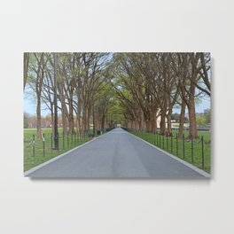 National Mall Promenade Metal Print