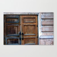 doors Canvas Prints featuring Doors by Jessica Jimerson