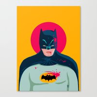 knight Canvas Prints featuring Knight by Jorge De la Paz