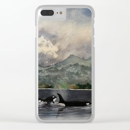I'm your friend, right? Clear iPhone Case