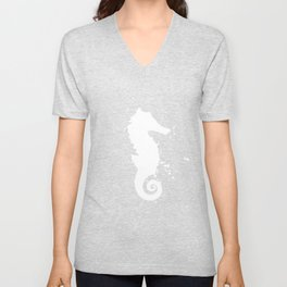 Seahorse - Graphic Fashion Unisex V-Neck