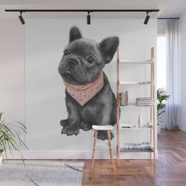 parlez-vous frenchie? Wall Mural