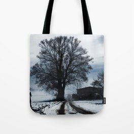 Foggy winter day I Tote Bag