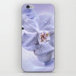 Weiße Orchideen iPhone Skin