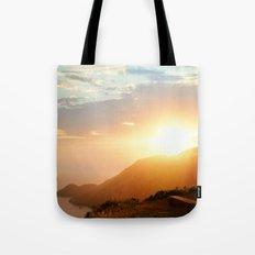 Sunset at Marin Headlands Tote Bag