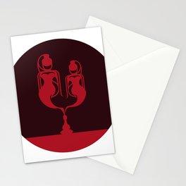 Jeannie Twins #2 Stationery Cards