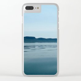 The Sleeping Giant Clear iPhone Case