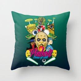Pinball, Game of skill Throw Pillow
