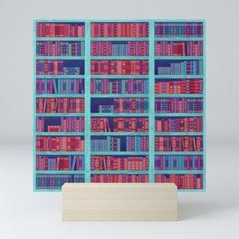 Bookshelf Mini Art Print