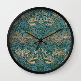 Gothic William Morris Wall Clock