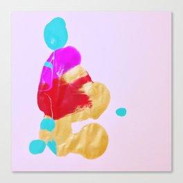 Rorschach No. 5: Zendo Canvas Print