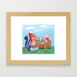 car1 Framed Art Print