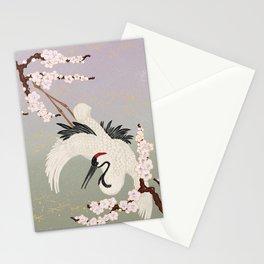 Japanese Crane Stationery Cards
