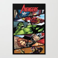 THE.AVENGERS  Canvas Print