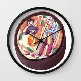 katsudon bed / yuri on ice! Wall Clock
