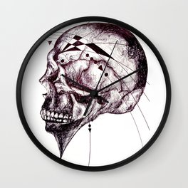 The injuries were not compatible with life Wall Clock