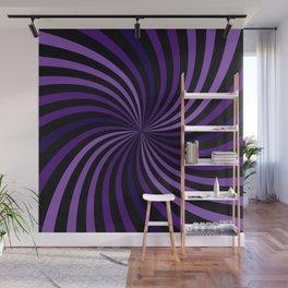 Purple Hypnotizing Swirl Wall Mural