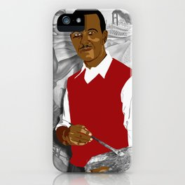 Hale Woodruff iPhone Case