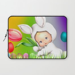 Easter Lawn Celebration Laptop Sleeve