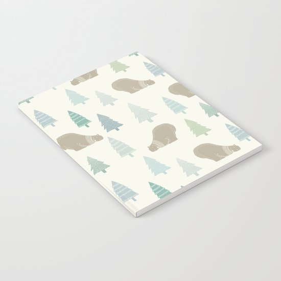 Merry Christmas Polar bear - Animal pattern Notebook