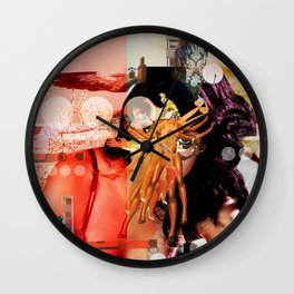 Wild Mountain · Great Balls Of Fire · Detail Variation 3 Wall Clock